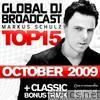 Global DJ Broadcast Top 15 - October 2009 (Bonus Track Version)