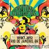 Live In Rio de Janeiro, BR - 18 Oct. 2012